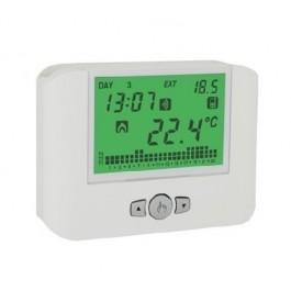 smart home προϊόντα-VEMER DRT3 WiFi 230VAC (WHITE) ΘΕΡΜΟΣΤΑΤΗΣ ΧΩΡΟΥ P.I.D ΨΗΦΙΑΚΟΣ ΜΕ ΦΩΤΙΖΟΜΕΝΗ ΟΘΟΝΗ